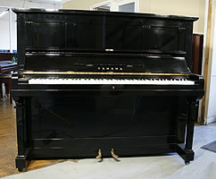 Modern Yamaha U2 Upright Piano For Sale