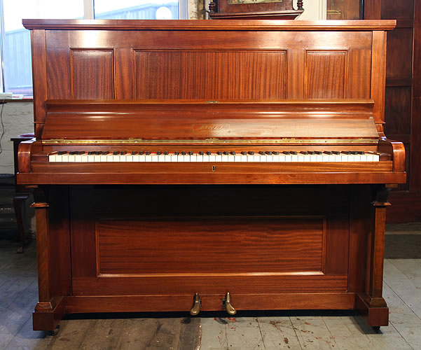Bell Upright Piano For Sale With A Mahogany Case Serial