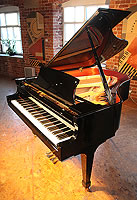 Boston GP178 Grand Piano For Sale with a black polyester finish