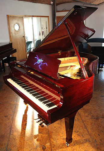 Boston gp178 grand piano for sale with a mahogany case for Big grand piano