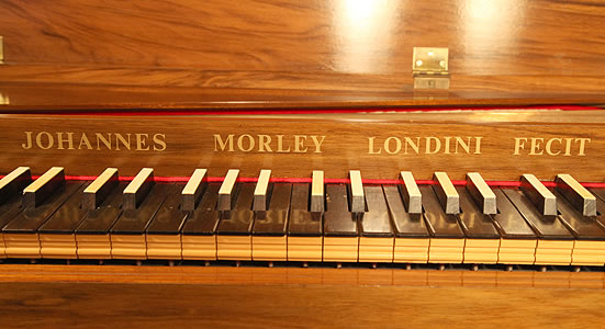 Johannes Morley Clavichord for sale. We are looking for Steinway pianos any age or condition.