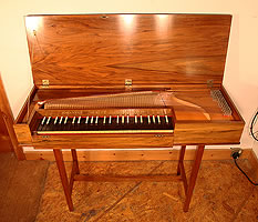 Johannes Morley Clavichord For Sale with a Rosewood Case