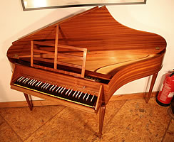 Johannes Morley Spinet For Sale with a mahogany case
