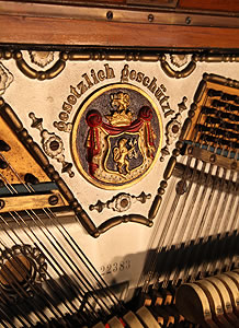 Seiler Upright Piano for sale.