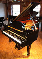 Steinway Model B Grand Piano For Sale with a black polyester finish