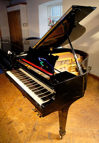 Steinway model s baby grand piano for sale with a black for Big grand piano