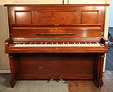 Mahogany Steinway Model Z Upright  Piano For Sale