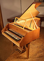 Wittmayer Harpsichord For Sale with a black case