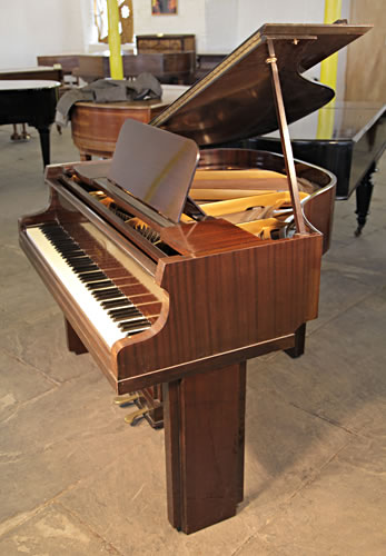 allison art deco baby grand piano for sale with a mahogany case 5500 specialist steinway. Black Bedroom Furniture Sets. Home Design Ideas