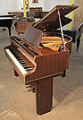 Piano for sale. An Art Deco Allison baby grand piano with a polished mahogany case