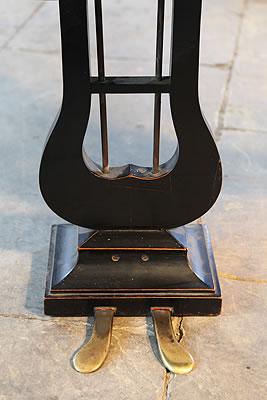 Bechstein concert grand piano lyre