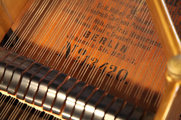 Bechstein piano serial number
