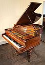 Bechstein Model B Grand Piano  For Sale with a Rosewood Case and Tapered, Sugar Legs