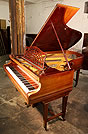 A 1904, Bechstein Model B grand piano with a mahogany case.