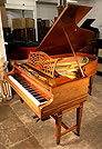 A 1904, Bechstein Model B grand piano with a rosewood case.