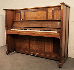 Arts and Crafts Bechstein upright piano