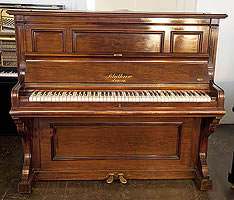 Antique, Bluthner Upright Piano with a Rosewood Case