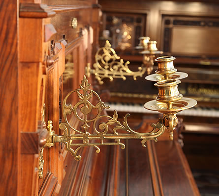 Ehret ornate carvings on piano legs