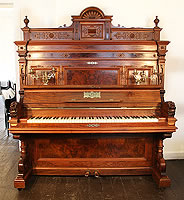 Artcased, Ehret upright piano