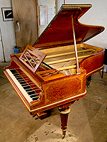 Artcase, Erard Grand Piano For Sale with a Rosewood and Sapele Mahogany Case with Brass Ormolu