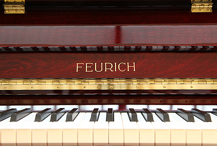 Brand New Feurich Model 122 Upright Piano for sale.