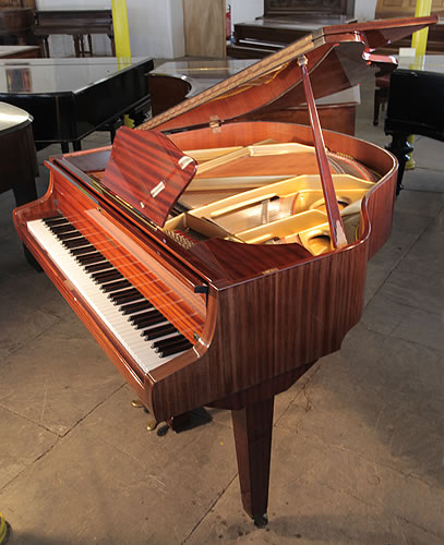 Hupfeld baby grand piano for sale with a mahogany case for Big grand piano