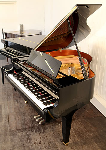Kawai ge20 baby grand piano for sale with a black case and for How big is a grand piano