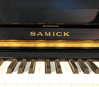 Samick SU118SB upright Piano for sale.