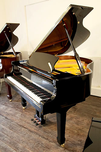 Steinhoven Model 160  grand Piano for sale with a black case.