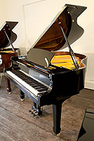 New Steinhoven Model 160 grand piano For Sale with a black case and polyester finish