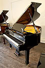 Piano for sale. A brand new Steinhoven Model GP160 grand piano with a black case and polyester finish. Great value for money.