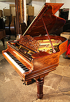Steinway Model A Grand Piano with a Rosewood Case