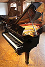 Steinway Model O Grand piano For Sale with a Black Case