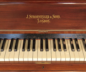 Strohmenger Upright Piano for sale.