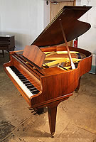 Welmar Baby Grand Piano For Sale with a walnut case