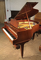 Welmar Baby Grand Piano For Sale with a mahogany case