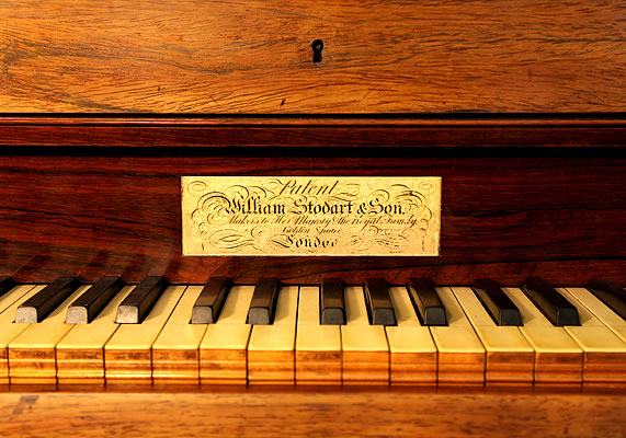 William Stodart Grand Piano For Sale With A Rosewood Case