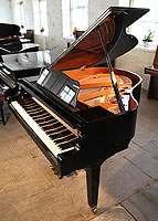Yamaha GB1 Baby Grand Piano For Sale with a black case