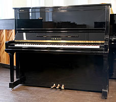 Modern Yamaha U30AS Upright Piano For Sale