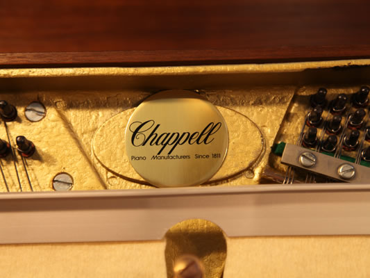 Chappell manufacturers stamp on frame