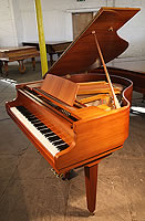 Cranes Baby Grand Piano For Sale with a Walnut Case