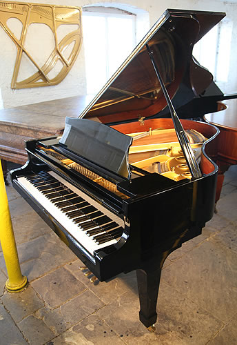 Kawai KG3C grand Piano for sale with a black case and polyester finish.