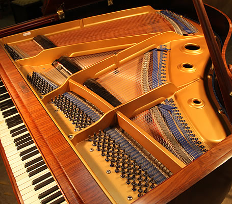 Obermeier Baby Grand Piano For Sale With A Walnut Case And