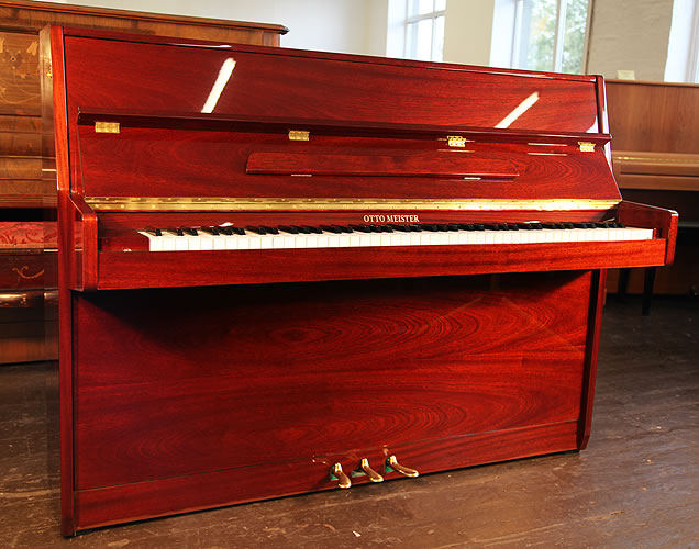 Otto Meister upright Piano for sale.