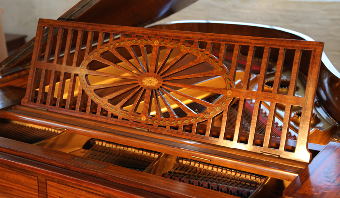 Schiedmayer Grand Piano for sale.