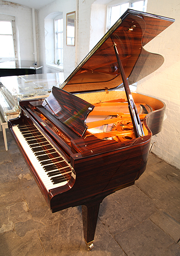 A schimmel k189 grand piano for sale with a macassar ebony for How big is a grand piano
