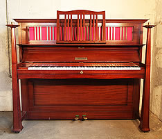 Artcased, Bechstein Model 9 upright piano
