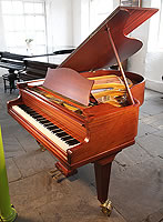 Bechstein Model L grand piano for sale with a mahogany case