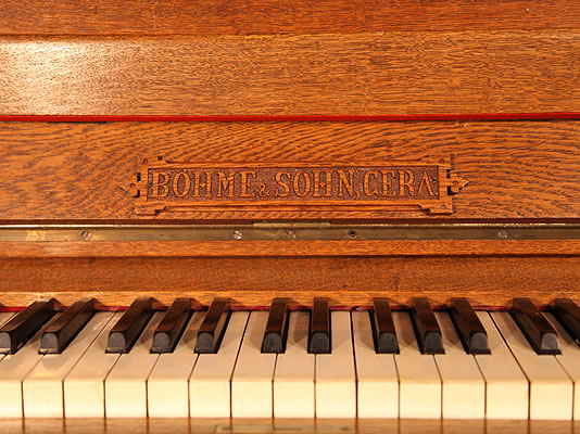 Bohme Upright Piano for sale.