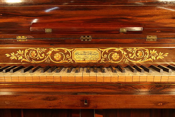 Clementi Upright Piano for sale.